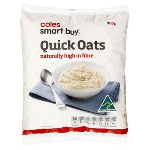 coles quick oats